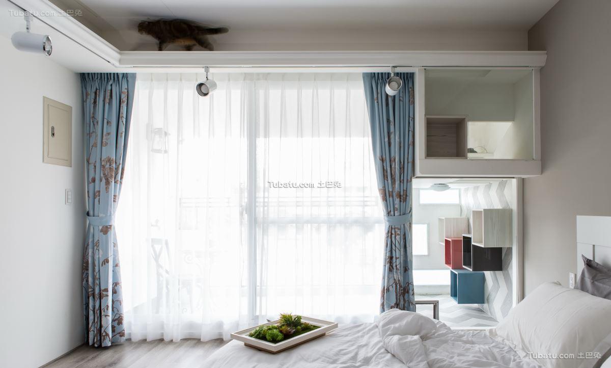简约风窗帘设计