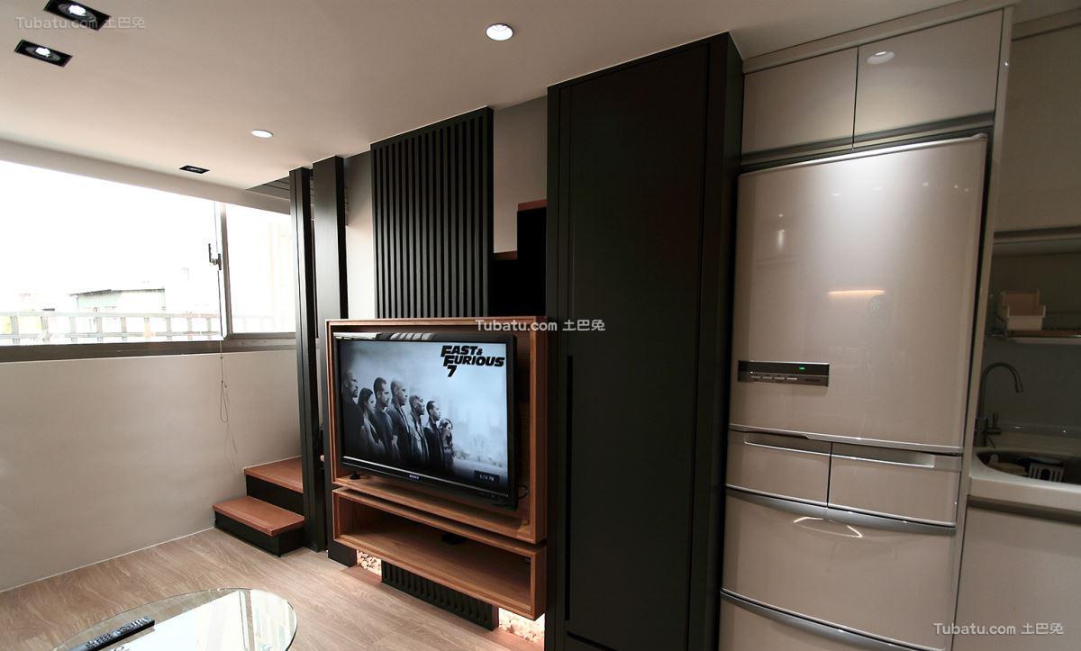 现代风电视背景墙效果图册