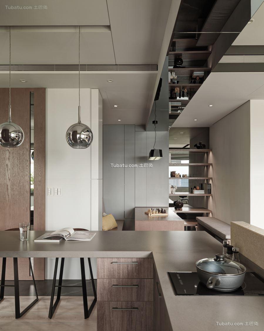 现代风厨房设计图册