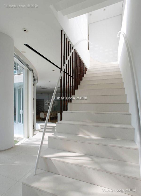 日式风别墅楼梯图集
