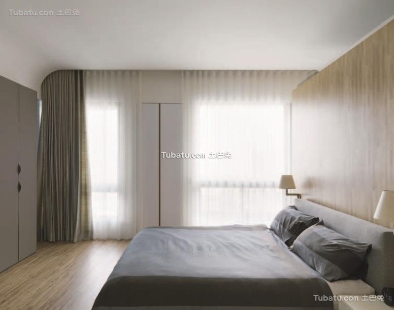 现代简约卧室效果图设计