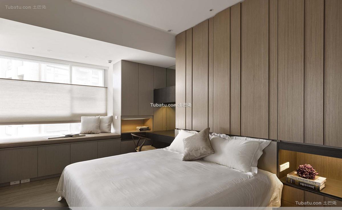 日式风格卧室效果图设计