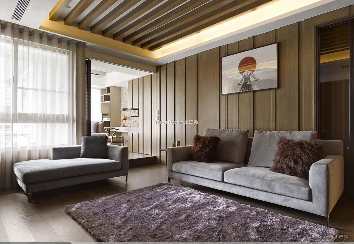 日式风格二居室效果图设计