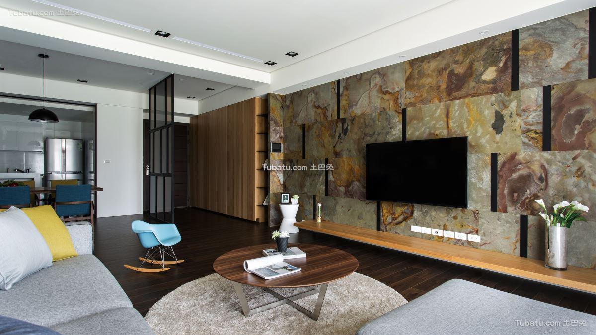 简约风一居室效果图设计