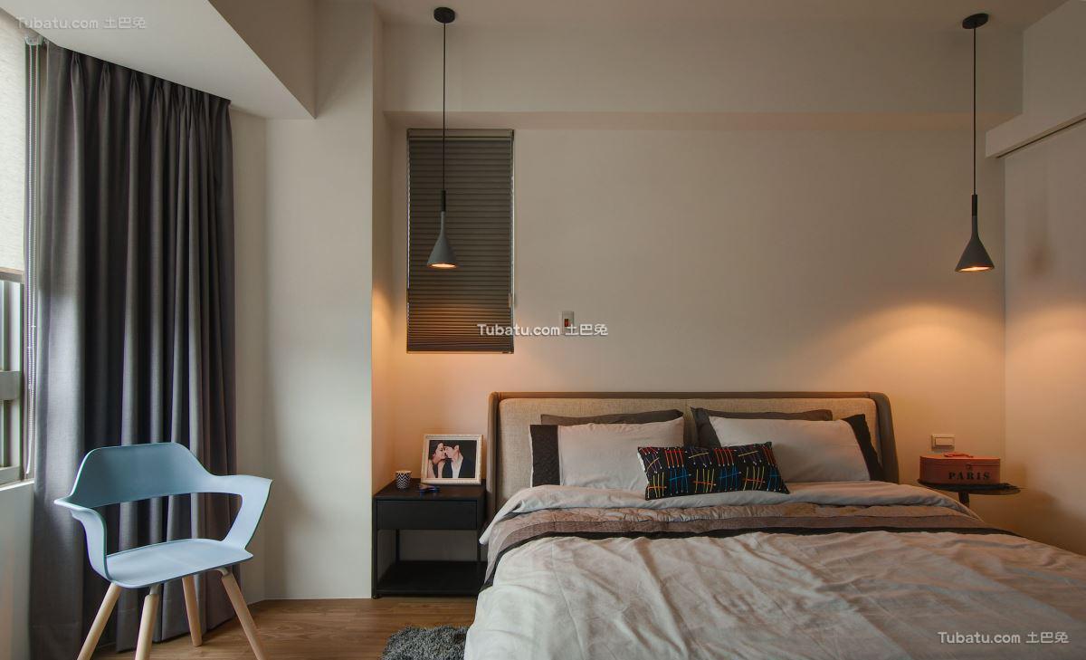 现代风卧室效果图设计