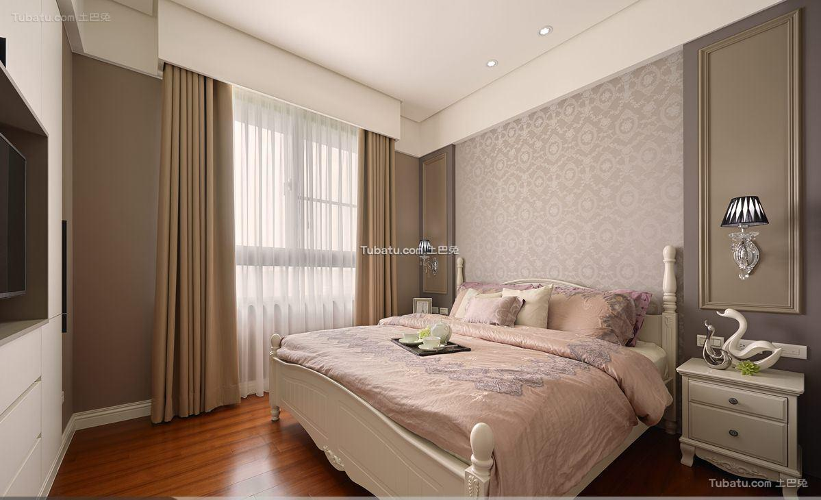 简欧风卧室效果图设计