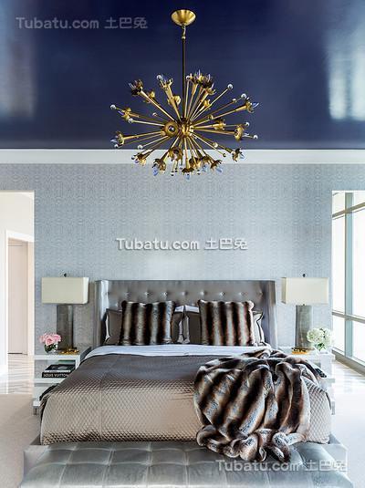 欧式风卧室效果图设计