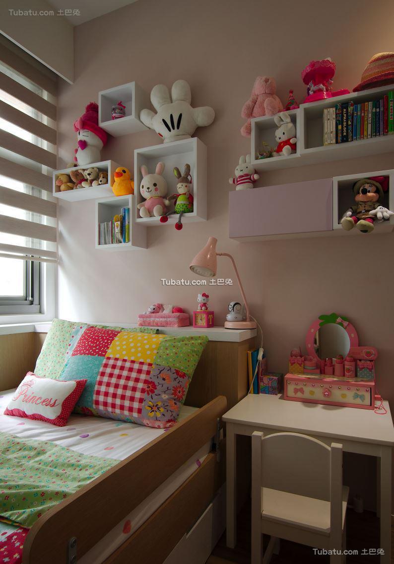 现代风儿童房效果图设计