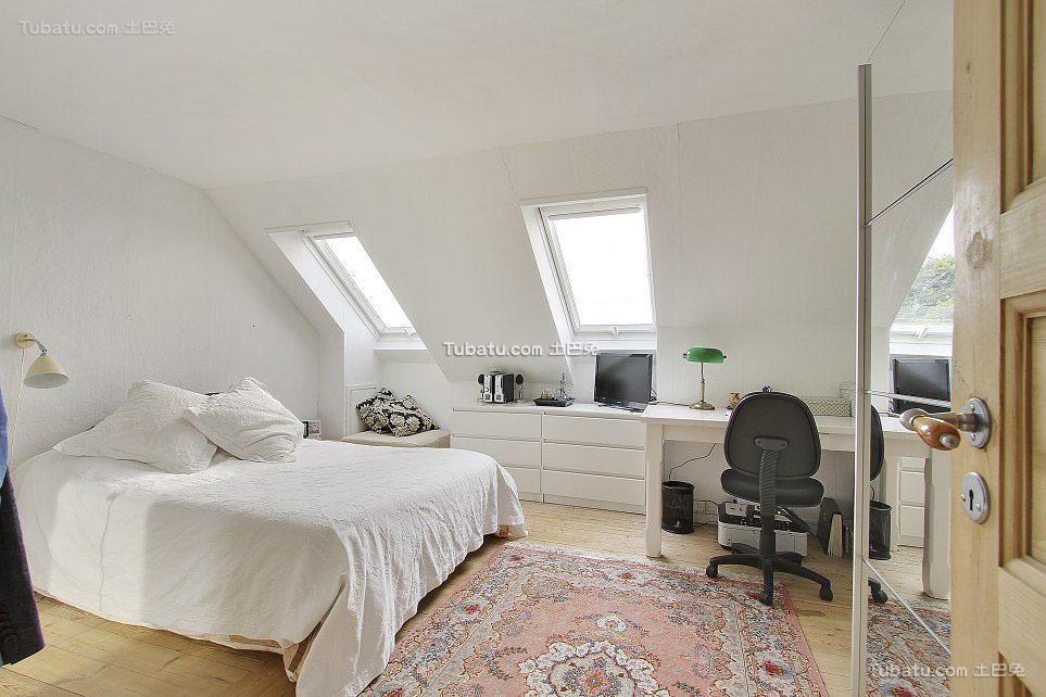 北欧风卧室装修图集