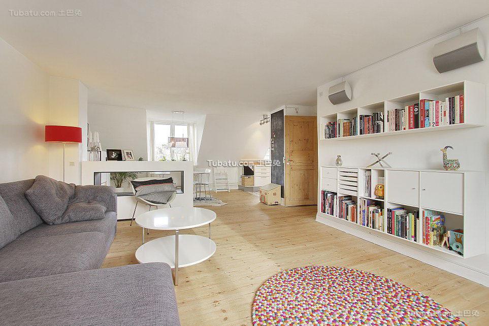公寓客厅图
