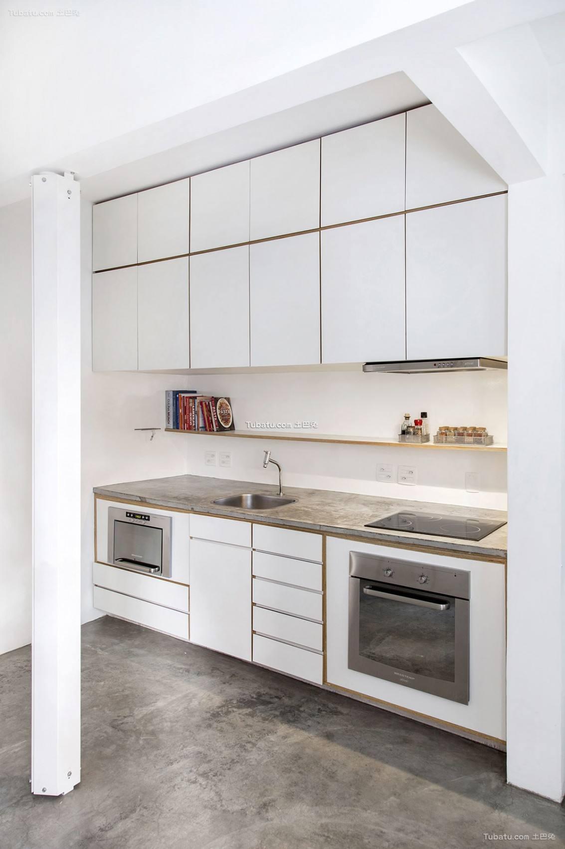 时尚现代风厨房设计图