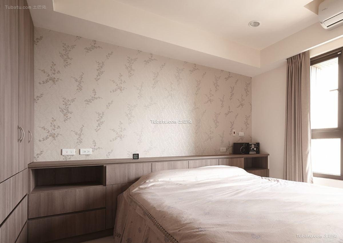 中式时尚家装卧室效果图