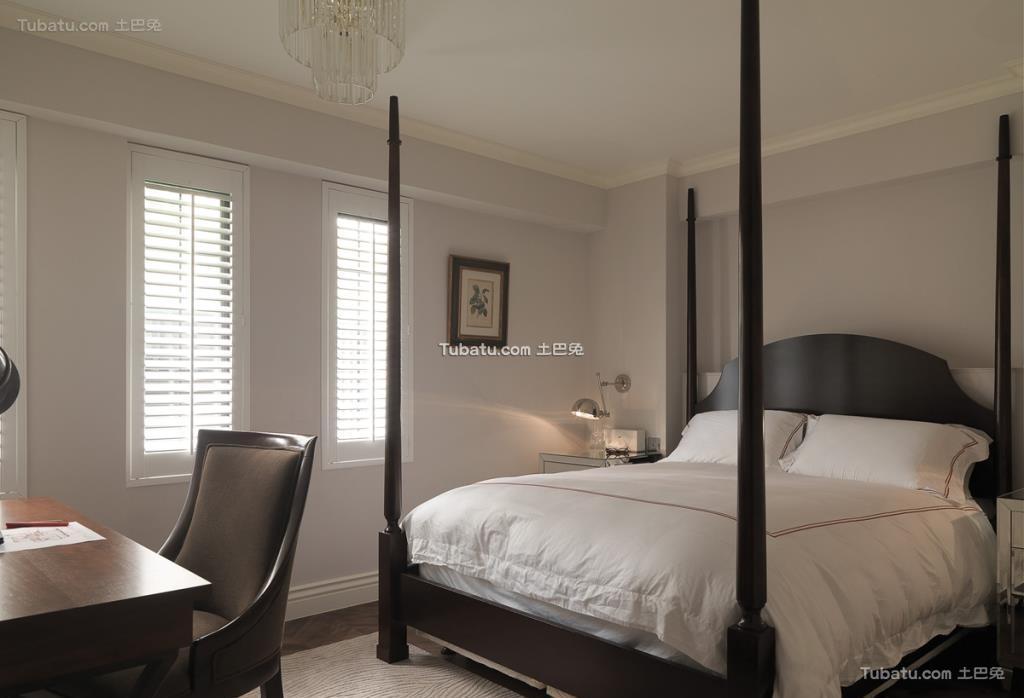 美式家装卧室效果图设计