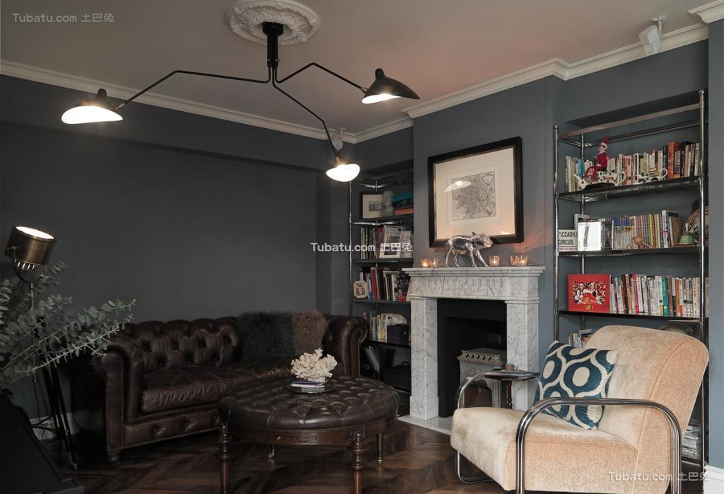 美式家装二居室效果图设计