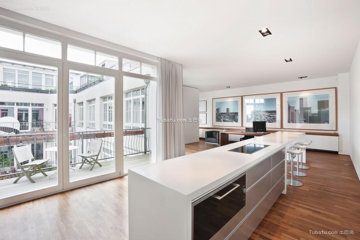 现代风公寓效果图设计