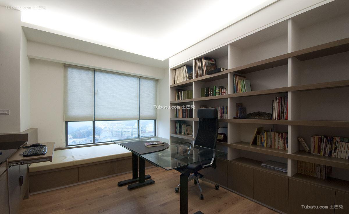 美式风摩卡书房设计