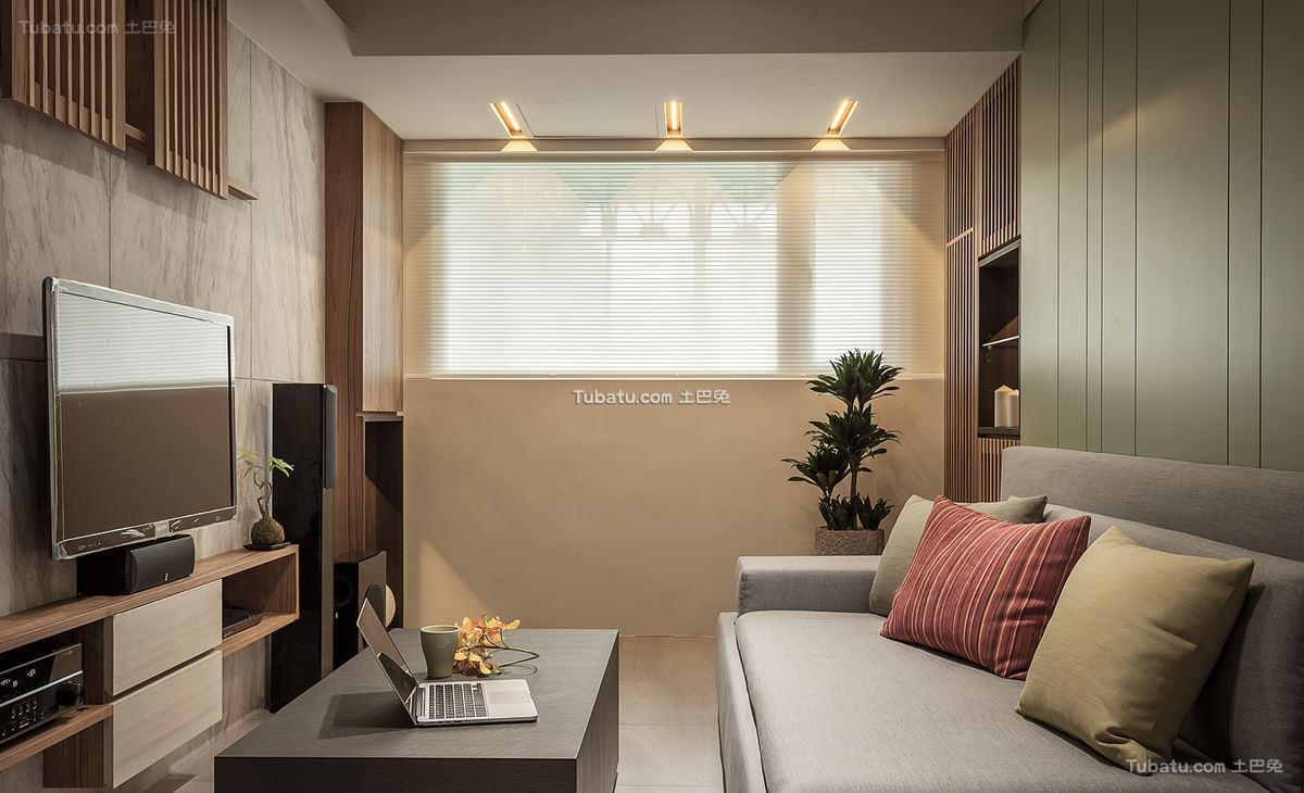 日式禅风客厅效果图设计