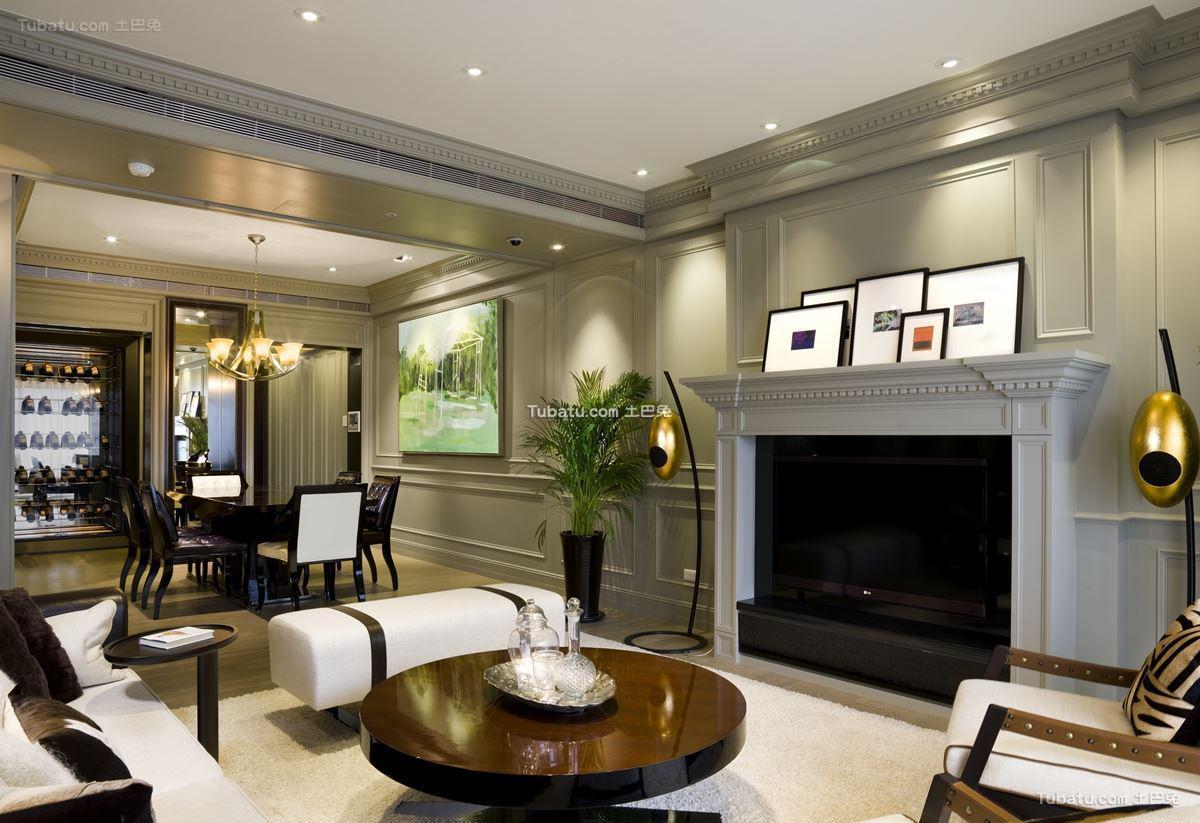 新古典风三居室设计大全