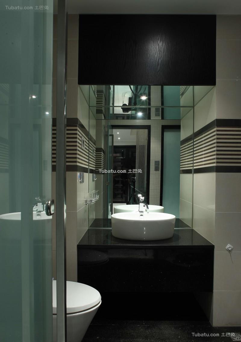 现代风气家装卫浴效果图