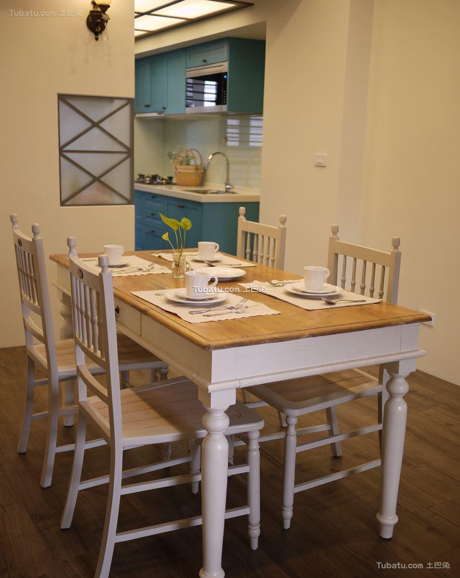 田园餐桌设计