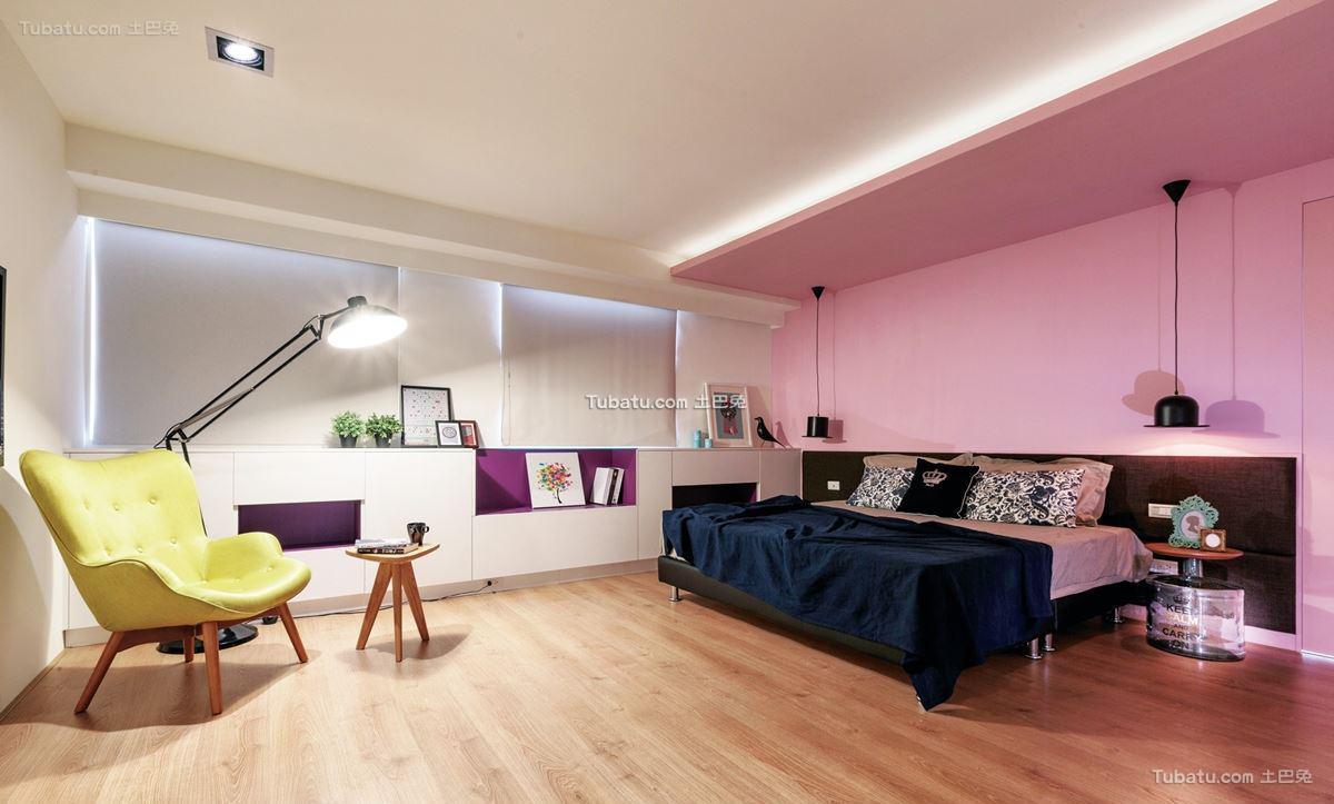 北欧风卧室设计