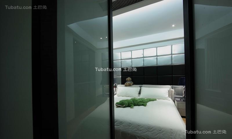 现代风气家装卧室效果图装修