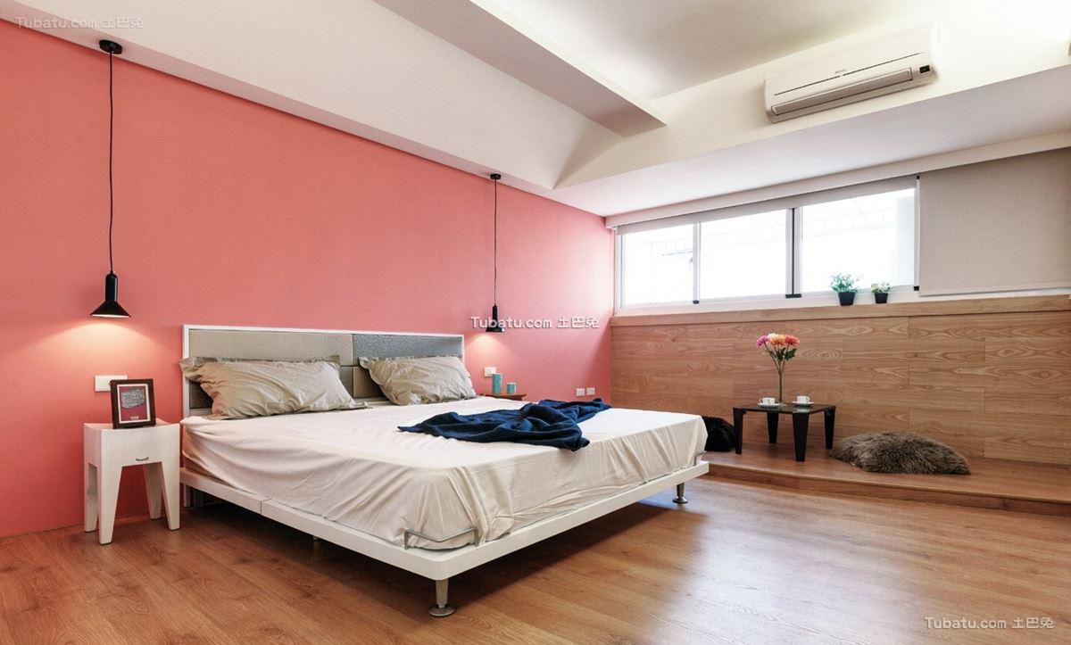 北欧风卧室效果图