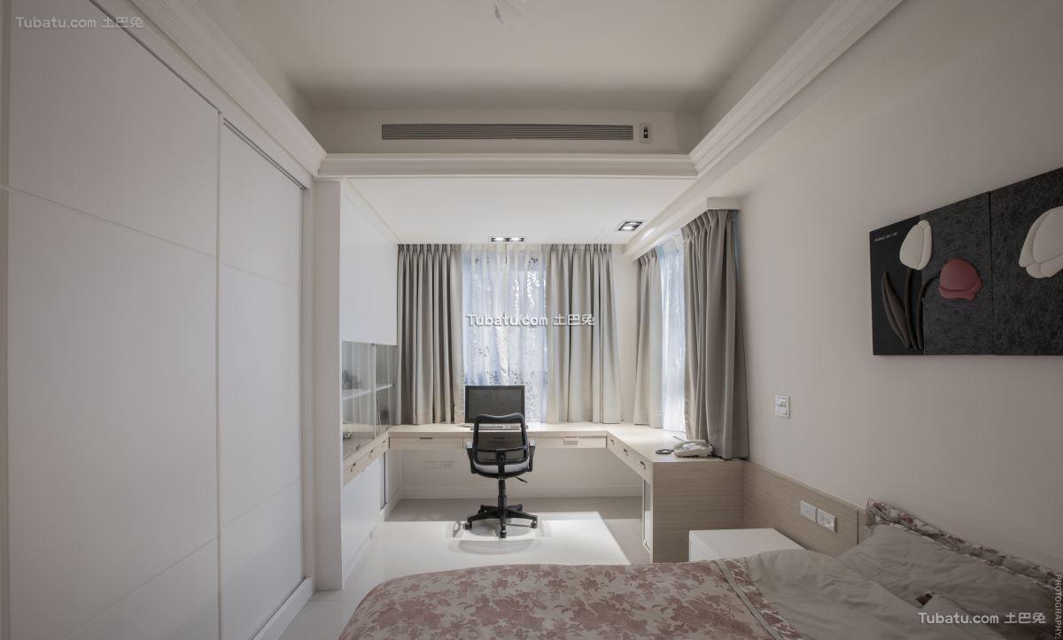 新中式家居卧室效果图