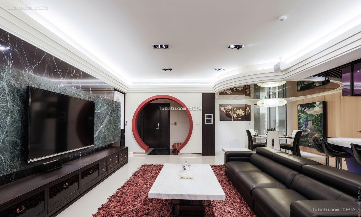 新中式家居吊顶效果图装修