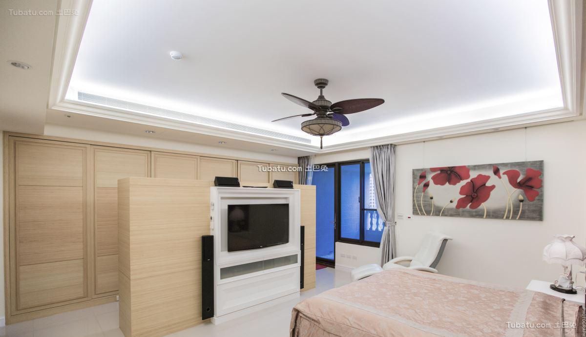 新中式家居风吊顶效果图