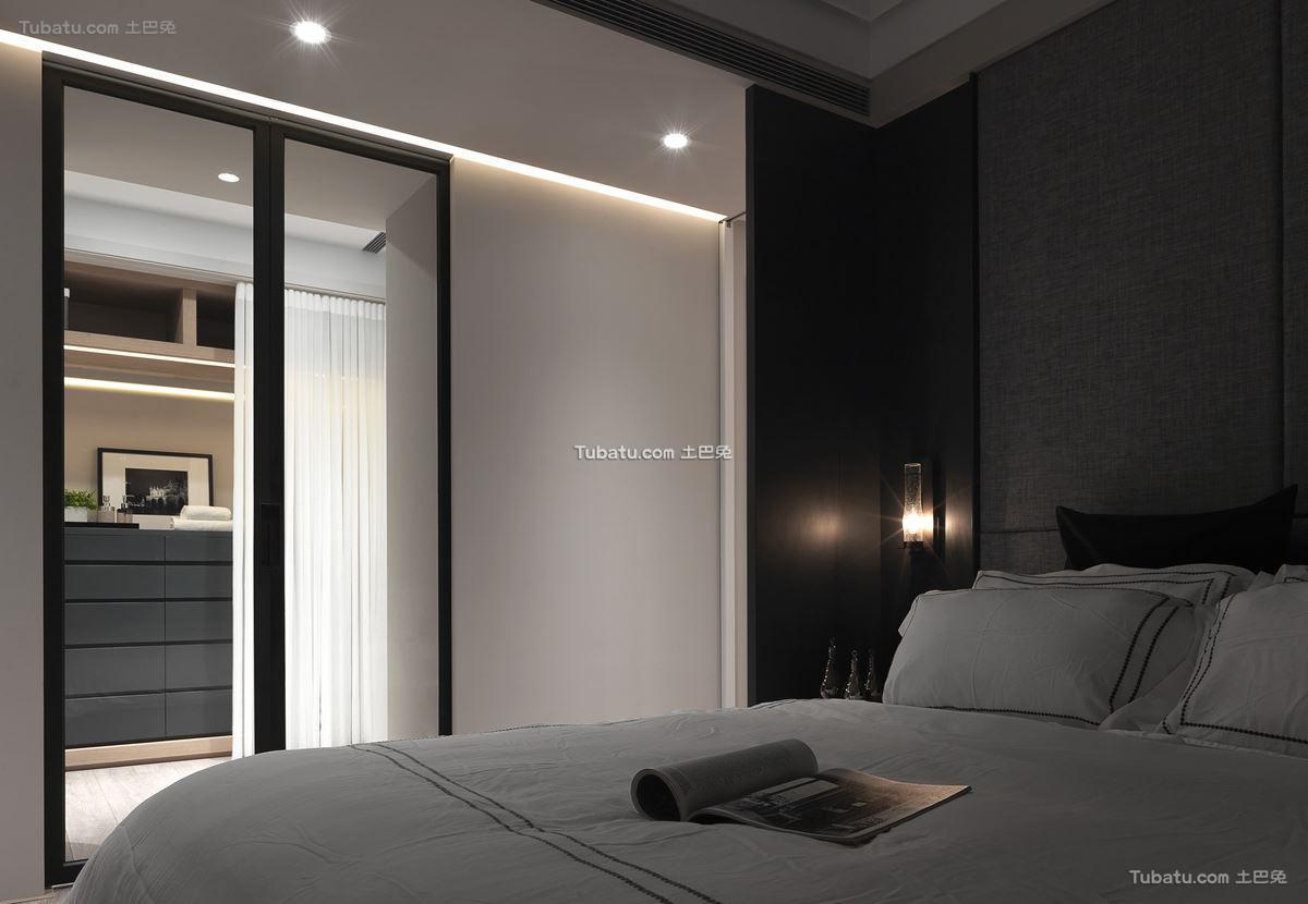 现代格调风卧室效果图