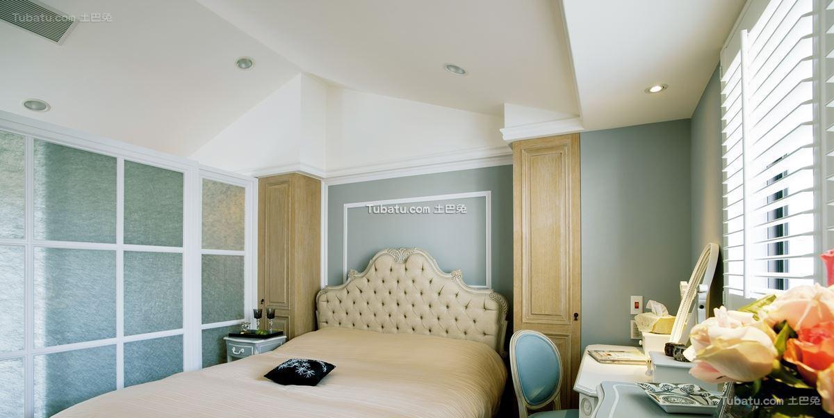 美式家居风卧室效果图