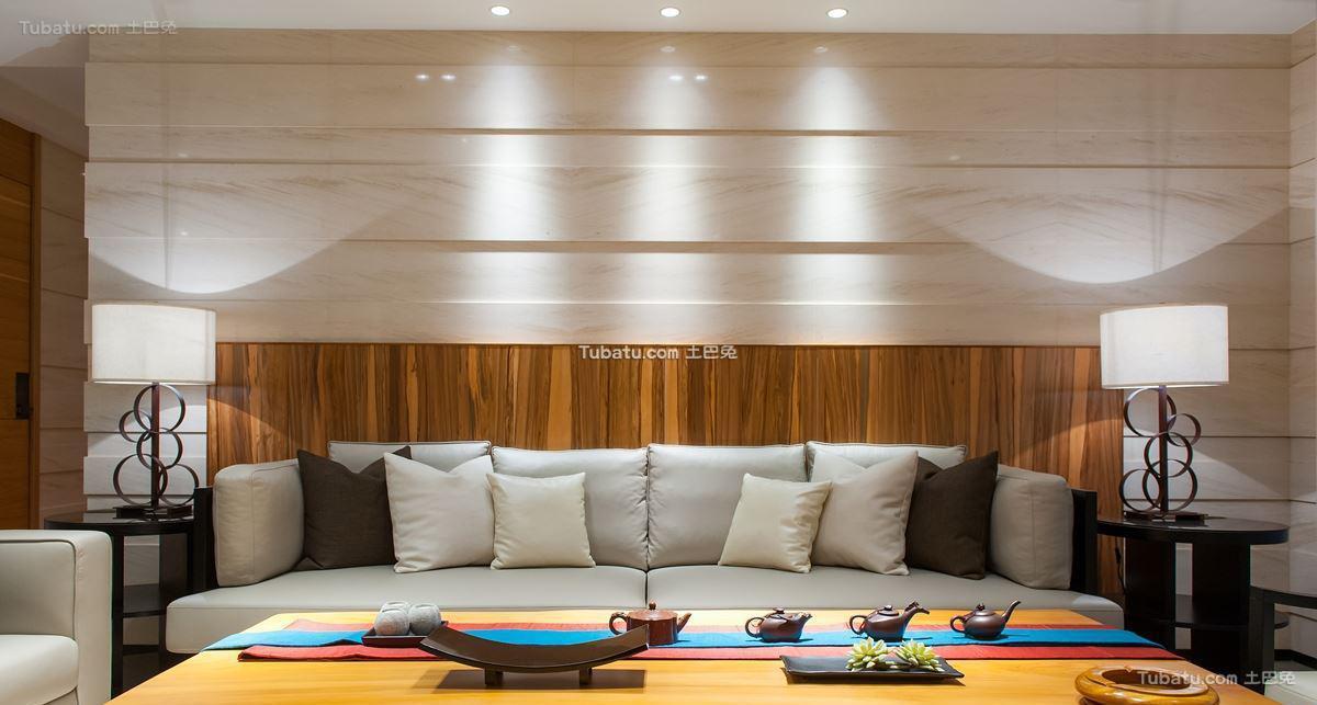 中式现代客厅效果图册