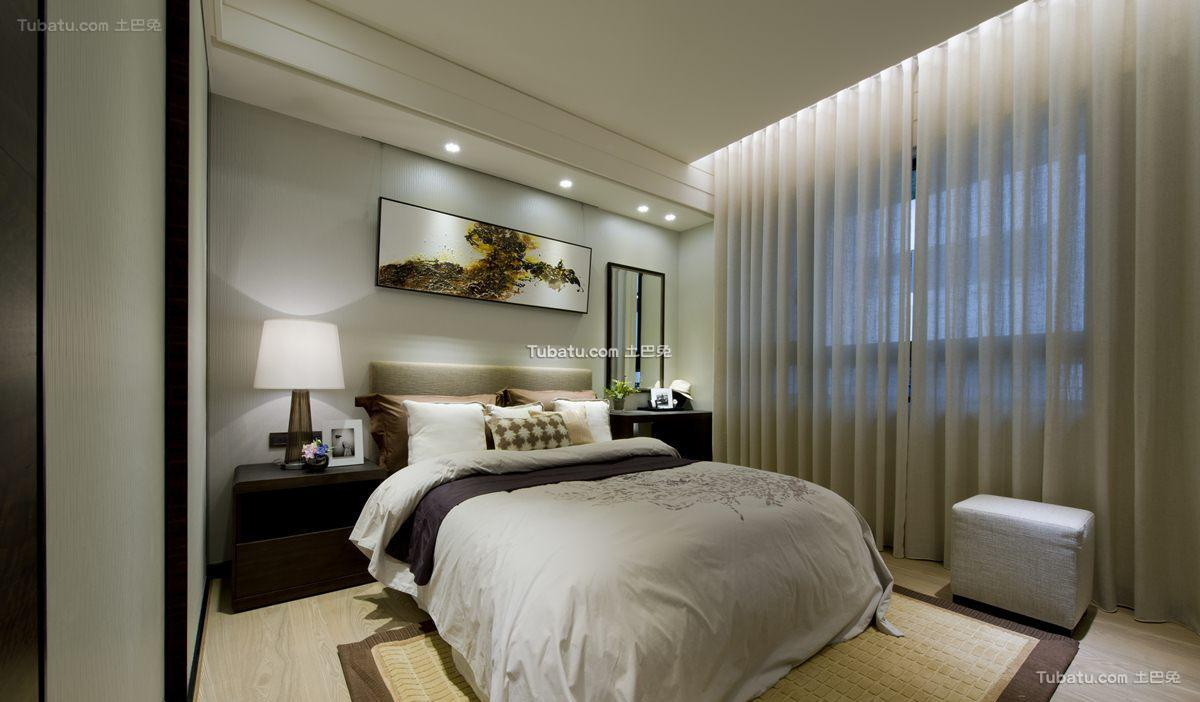 中式时尚格调卧室装修