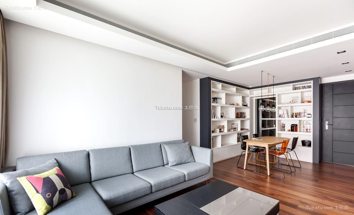 家装现代格调客厅装修图