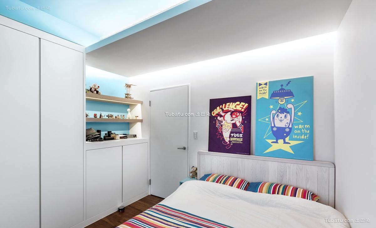 家居现代格调儿童房装修图