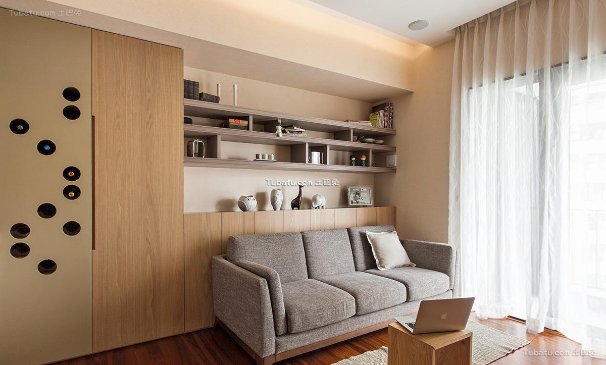 日式家居时尚客厅装修