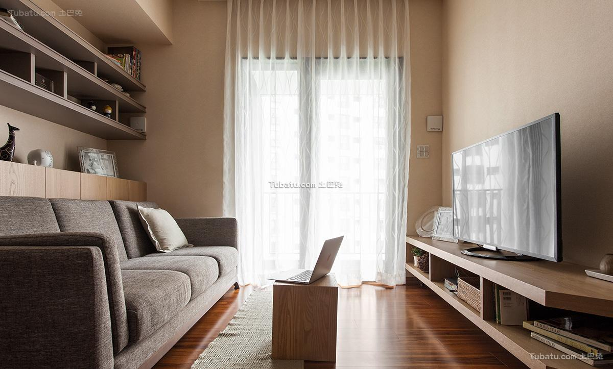 日式时尚家居一居装修