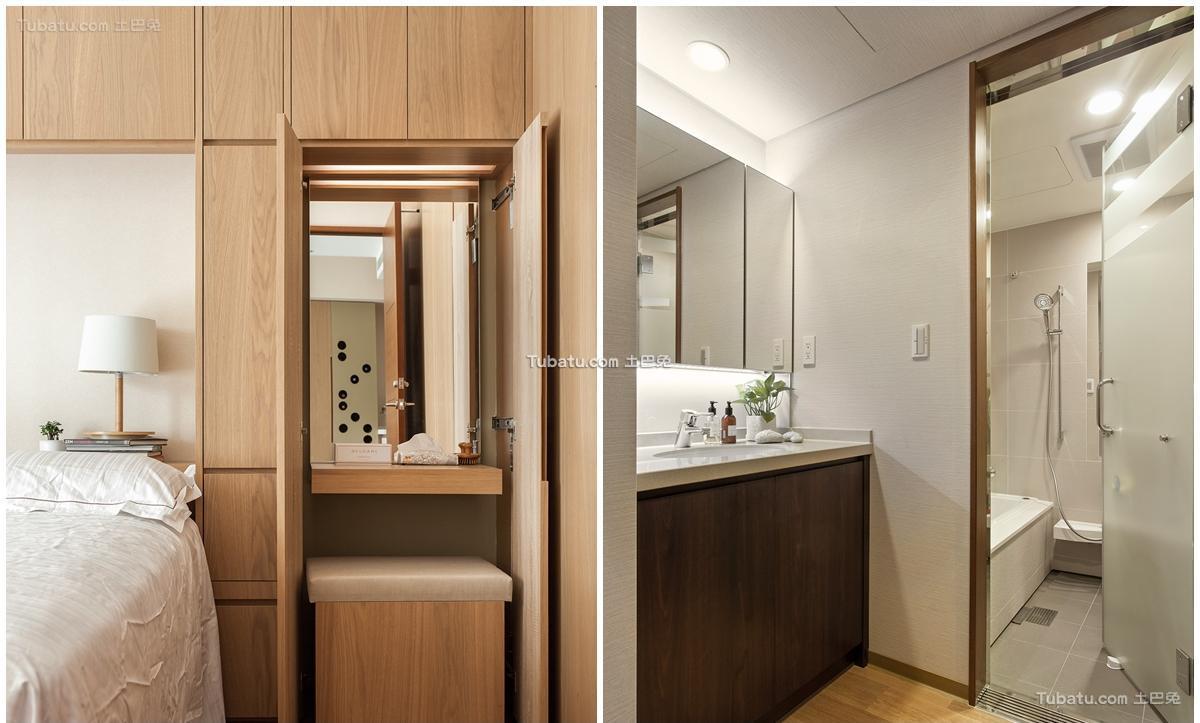 日式家居时尚卫浴装修