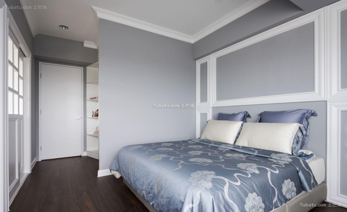 美式时尚家居卧室装修图