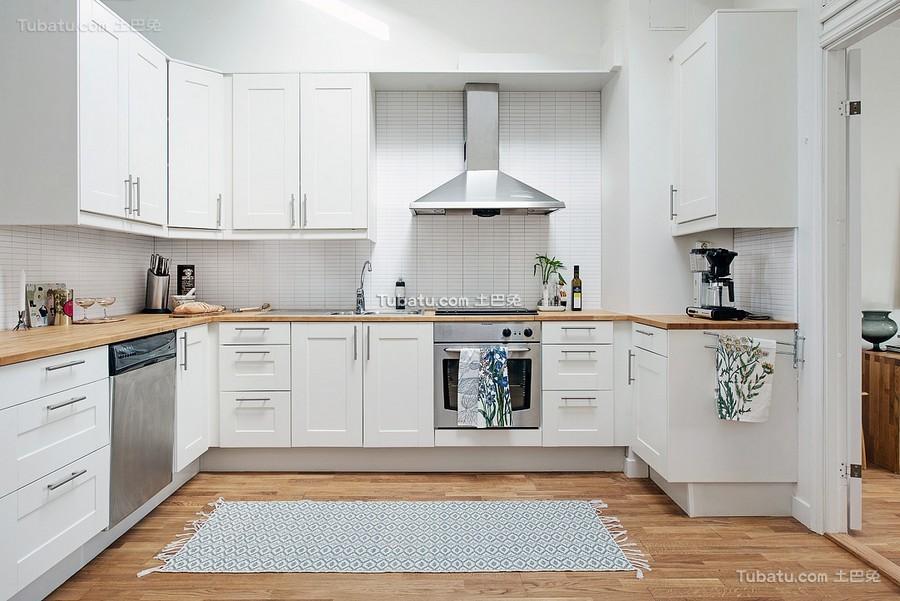 北欧风格厨房效果图集