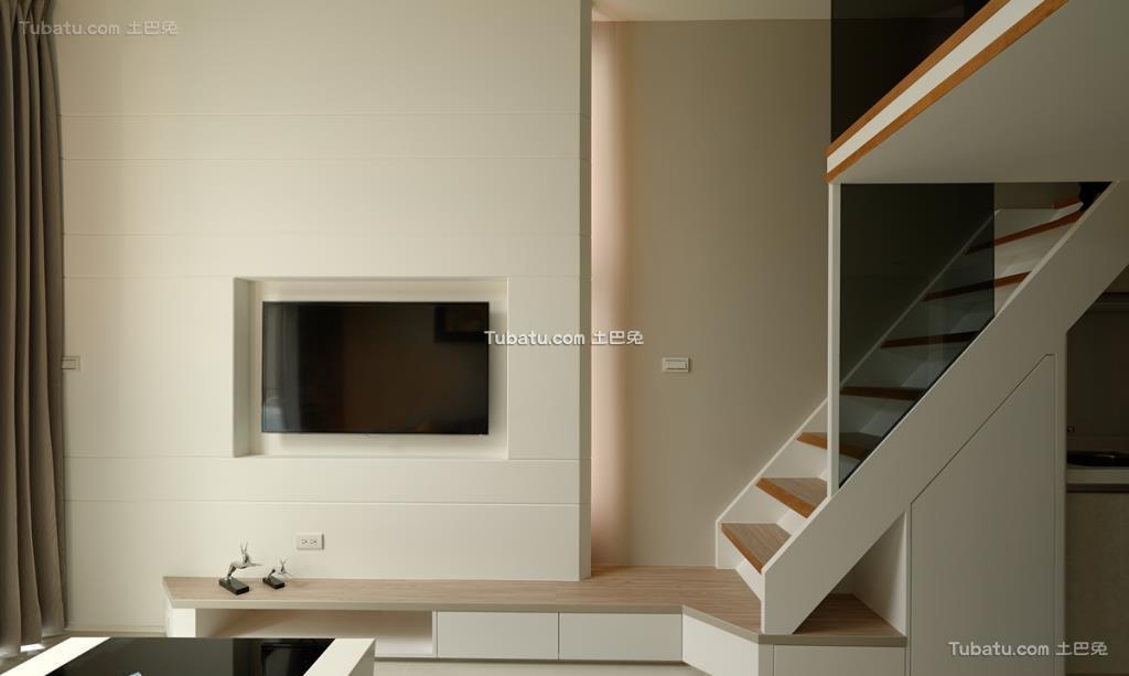 现代风调电视背景墙效果图集