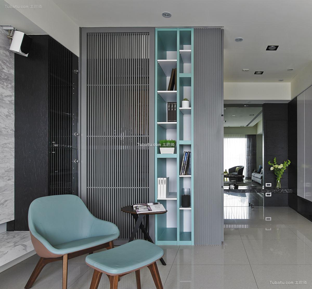 现代家居时尚风隔断设计图册