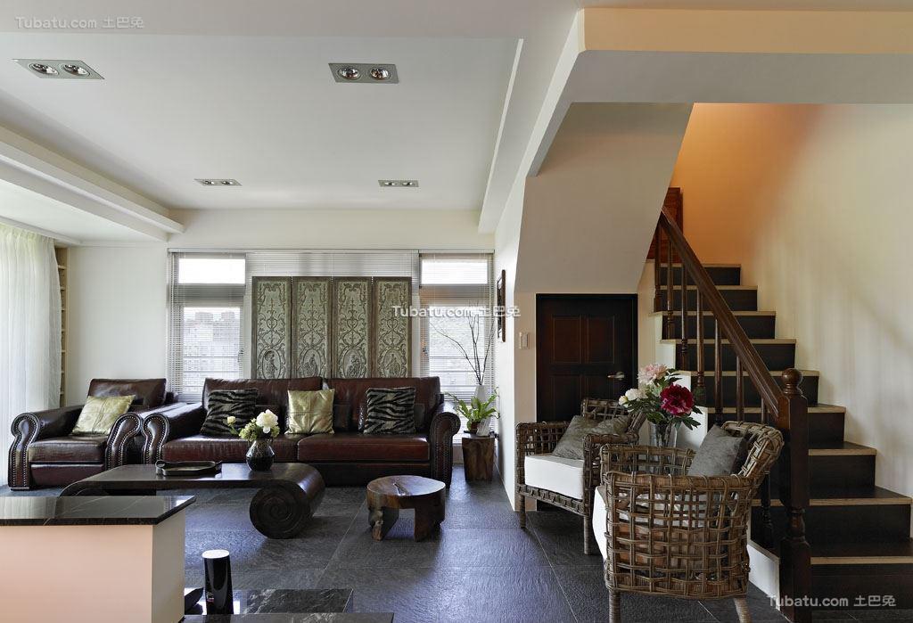 中式典雅格调客厅设计图集