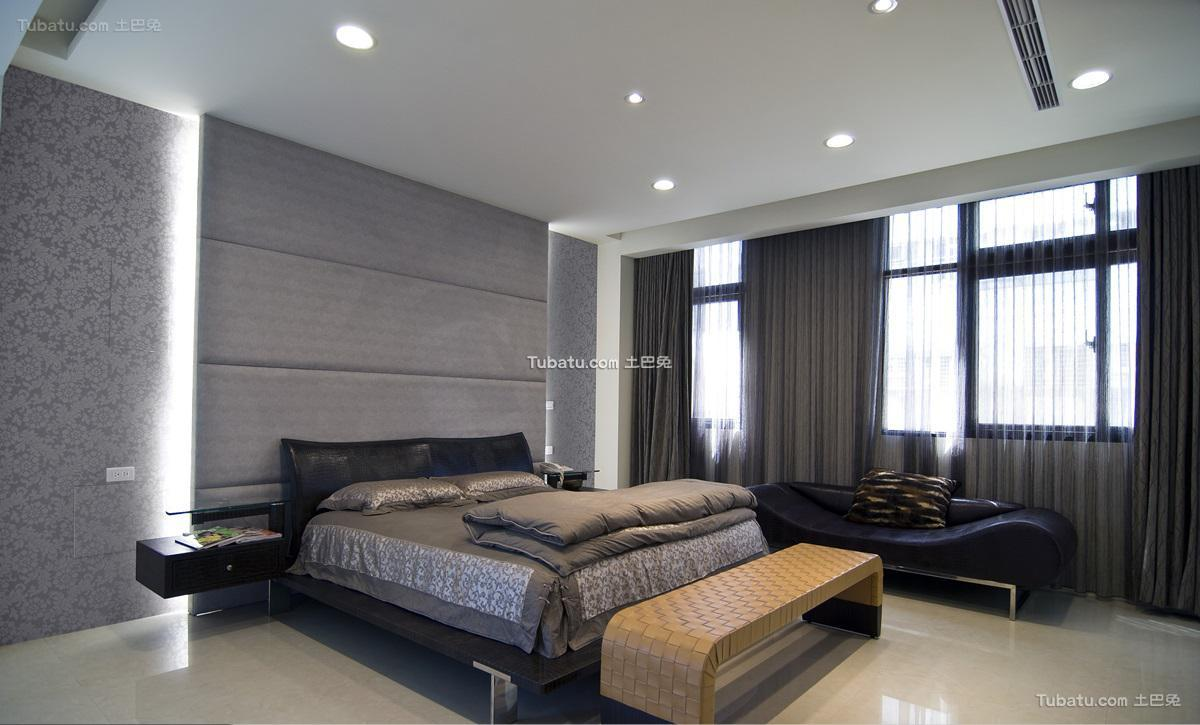 经典现代风卧室装修图
