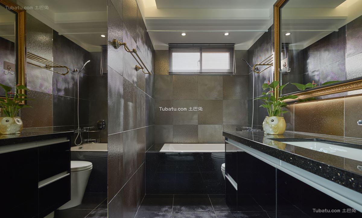 新古典风情卫浴装修图册