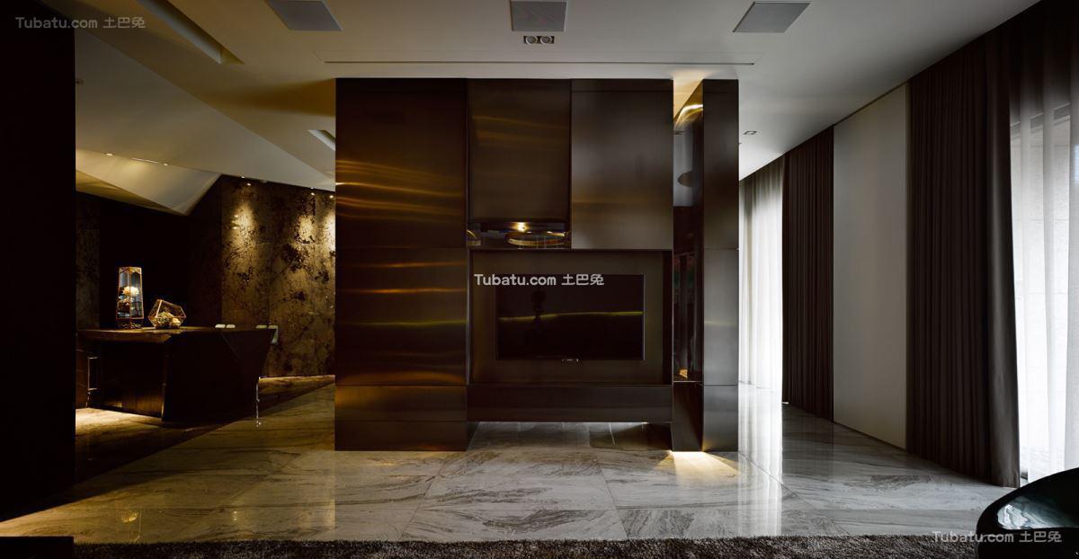 家居现代电视背景墙效果图