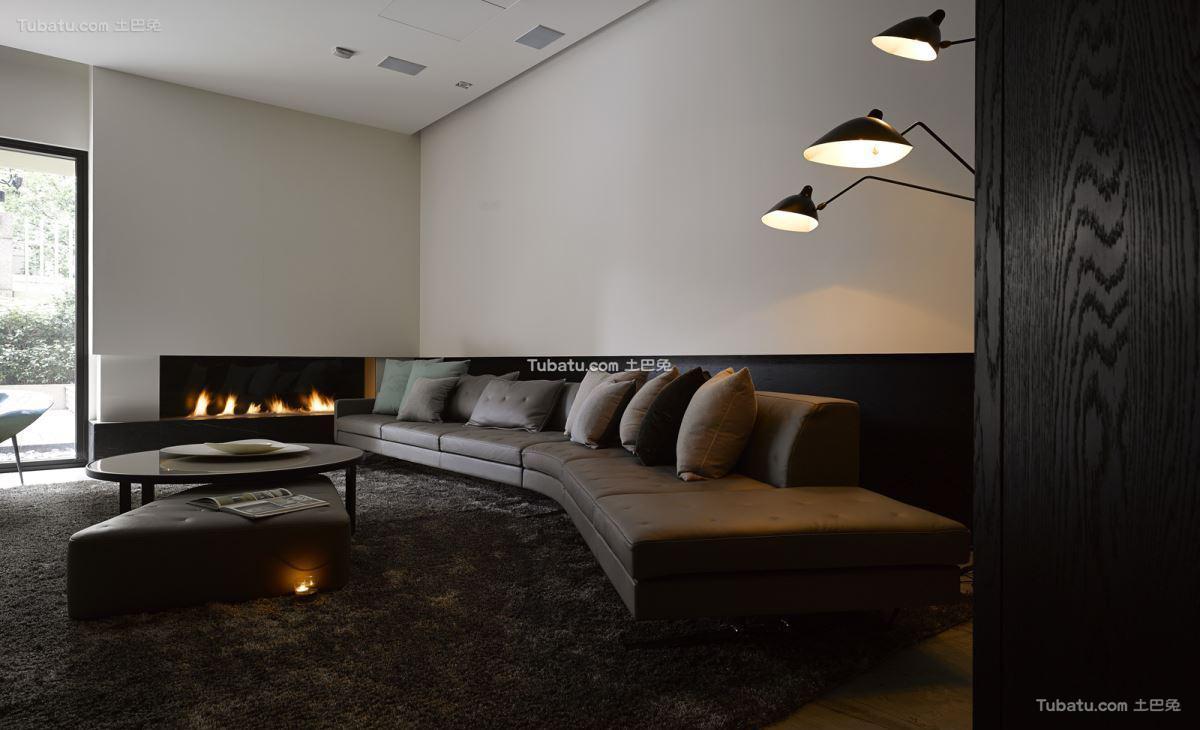 家居现代客厅效果图