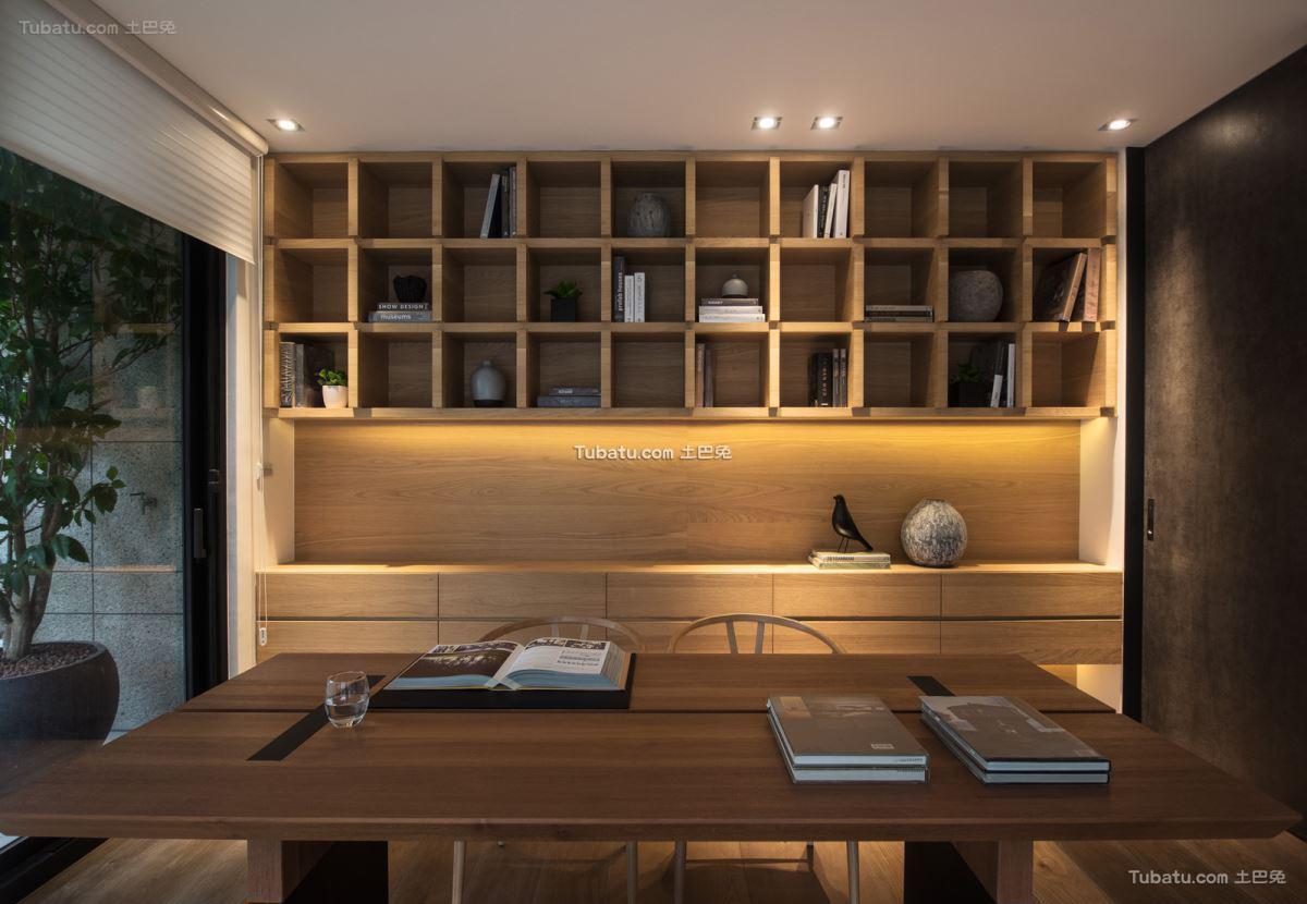 家居现代书房设计图