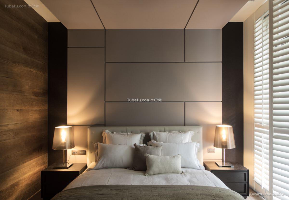 家居现代卧室效果图